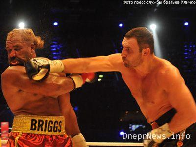 Кличко избил Бриггса, но обошлось без нокаута