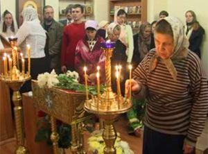 В больничном храме Днепропетровска происходят чудеса