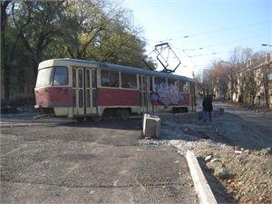 Снова начал ходить 15-й трамвай