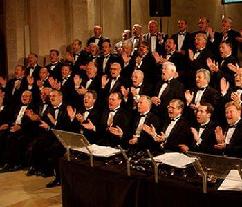Хор «Singing Men of Texas» посетил Днепропетровск