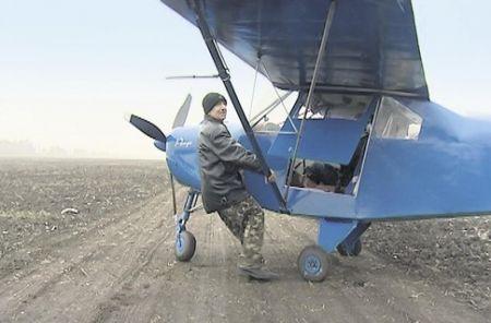 Днепропетровец собрал скоростной аэроплан