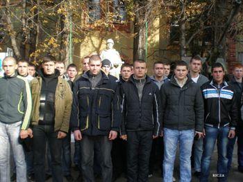 В Днепропетровске сформирована специальная команда в «Президентский полк»
