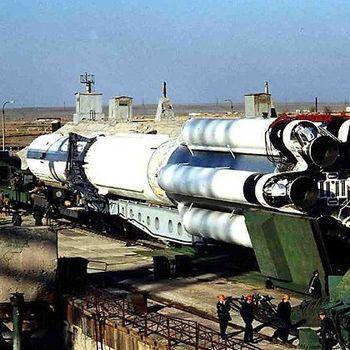 Днепропетровскую ракету готовят к запуску на Байконуре