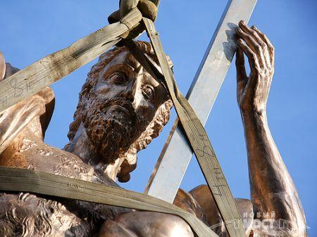 Состоялась презентация скульптуры Иоанна Крестителя