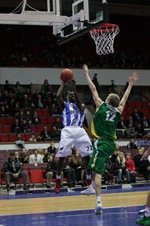 БК «Днепр» завоевал пятую победу в сезоне