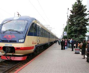 Первым рейсом в Харьков «Східний експрес» перевез 26 пассажиров