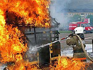 Количество пожаров на Днепропетровщине в этом году возросло