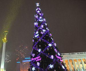 Главную украинскую елку украсят советскими игрушками и камнями Сваровски