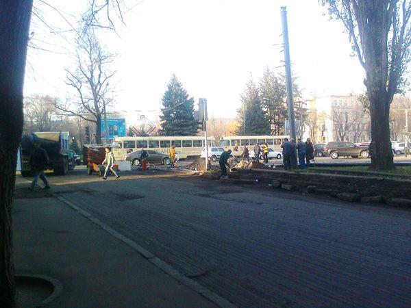 Проспект готовят к ремонту