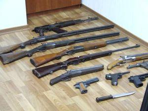 Правоохранители накрыли «домашний» арсенал оружия