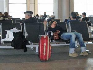 В Борисполе задерживаются авиарейсы