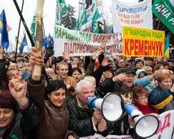 Противники принятия Налогового кодекса вышли на Майдан