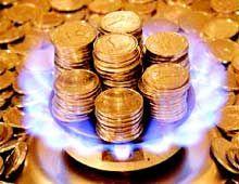 Коммунальщики оплатили только 25% платы за газ