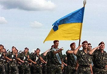 День украинской армии отметят с салютами