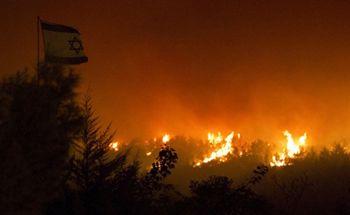Более 13 тысяч человек эвакуировали из-за пожаров в Израиле