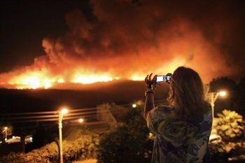 Масштабный лесной пожар в Израиле спровоцировал подросток