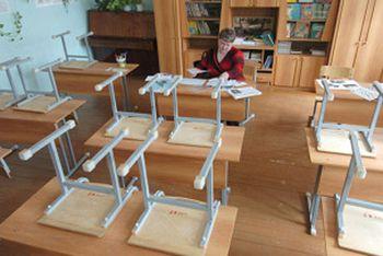 В Днепропетровске на карантин отправили 36 классов в 10 школах города