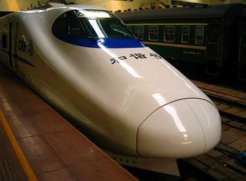В Китае запустили первый поезд, который заправляется водородом