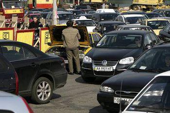 Иногородним авто запретят въезжать в Киев