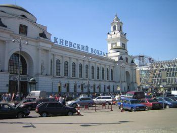 Московская милиция усиливают патрулирование окрестностей Киевского вокзала
