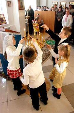 В восьмой горбольнице Днепропетровска открыли храм