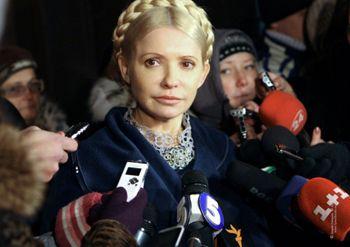 Из подозреваемой Тимошенко стала обвиняемой