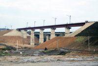 На Днепропетровщине торжественно открыли мост