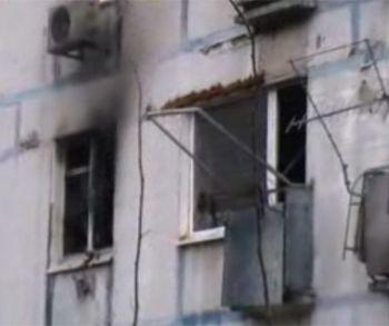 Трое малышей стали заложниками пожара в днепропетровской высотке