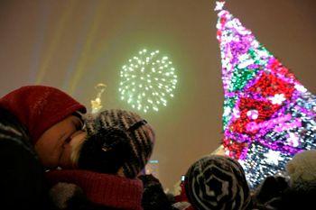 Днепропетровск вошел в пятерку самых посещамых городов на Новый год