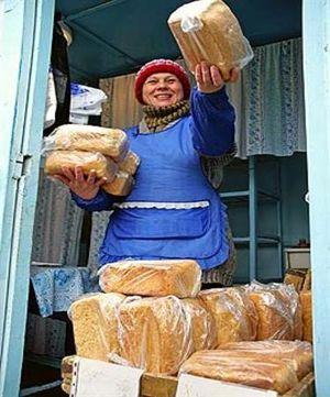 В первый день 2011 года - со свежим хлебом!