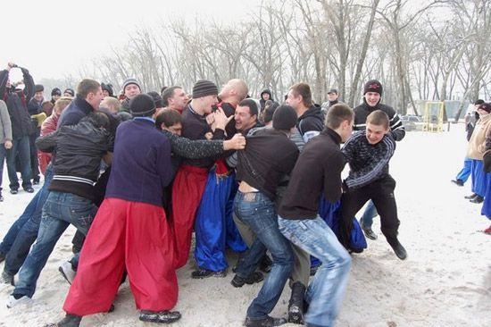 Как встретили Крещение в Днепропетровске