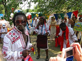 Украину заселят африканцы и азиаты