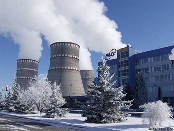 На Ровенской АЭС произошло отключение энергоблока