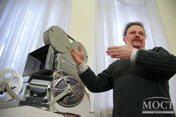 В Днепропетровске открылась выставка кинокамер прошлого