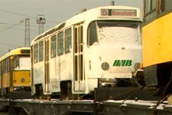 Немецкие трамваи обвинили в коррупции