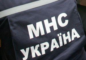 В Днепропетровске от огня спасли водителя грузовика