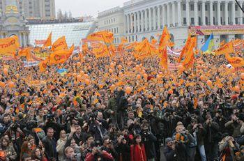 Украина на 22 месте по революционным настроениям в мире