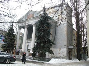 Днепропетровскому костелу вернут его исторический облик