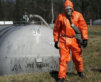 В конце марта на Днепропетровщине утилизируют твердое ракетное топливо
