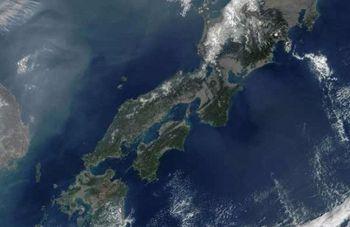 Цунами сдвинуло Японию на 2,4 метра