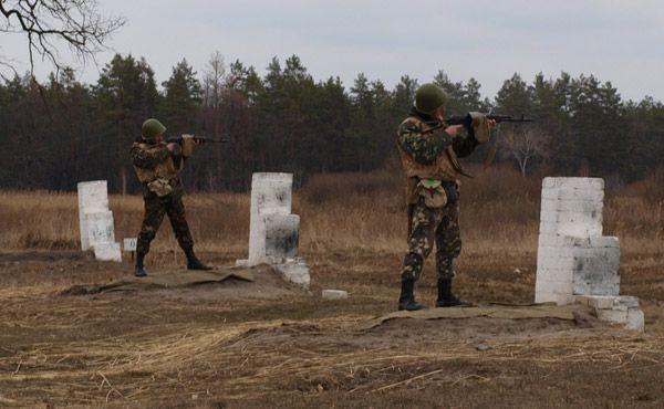 На Днепропетровщине прошли занятия по огневой подготовке военнослужащих