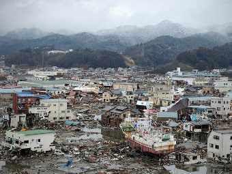 Число погибших при землетрясении в Японии превысило 11 тысяч