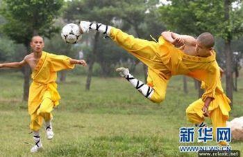 Монахи Шаолиньского монастыря займутся подготовкой футболистов