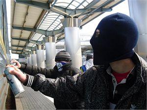 Граффитисты рука об руку с милицией поработают на субботнике