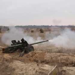 Лучшими артиллеристами стали офицеры 25-й Днепропетровской воздушно-десантной бригады