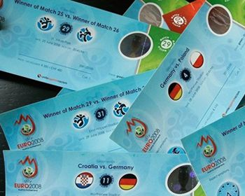 Сегодня последний день продажи билетов на Евро-2012