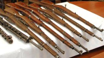 За месяц жители Днепропетровщины добровольно сдали в милицию 304 единицы оружия