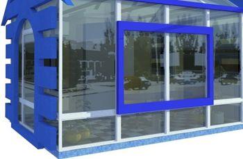 В Кривом Роге ищут жильца для дома из стекла