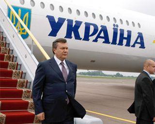 Янукович прилетел в Днепропетровск