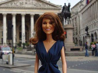 В Великобритании выпустили куклу Кейт Миддлтон